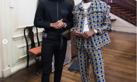 (Photos)Singer,Patoranking Spotted with Arsenal and Super Eagles star Alex Iwobi