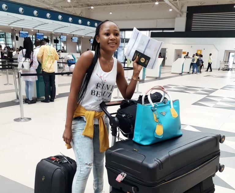 Akuapem Poloo Makes Her International Travel