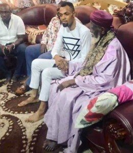Photos: Visits Chief Imam   Hosts  Rev. Obofour   Amidst Doom Of Prophesies