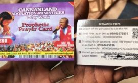 NIGERIAN PASTOR SELLS PROPHETIC PRAYER RECHARGE CARDS