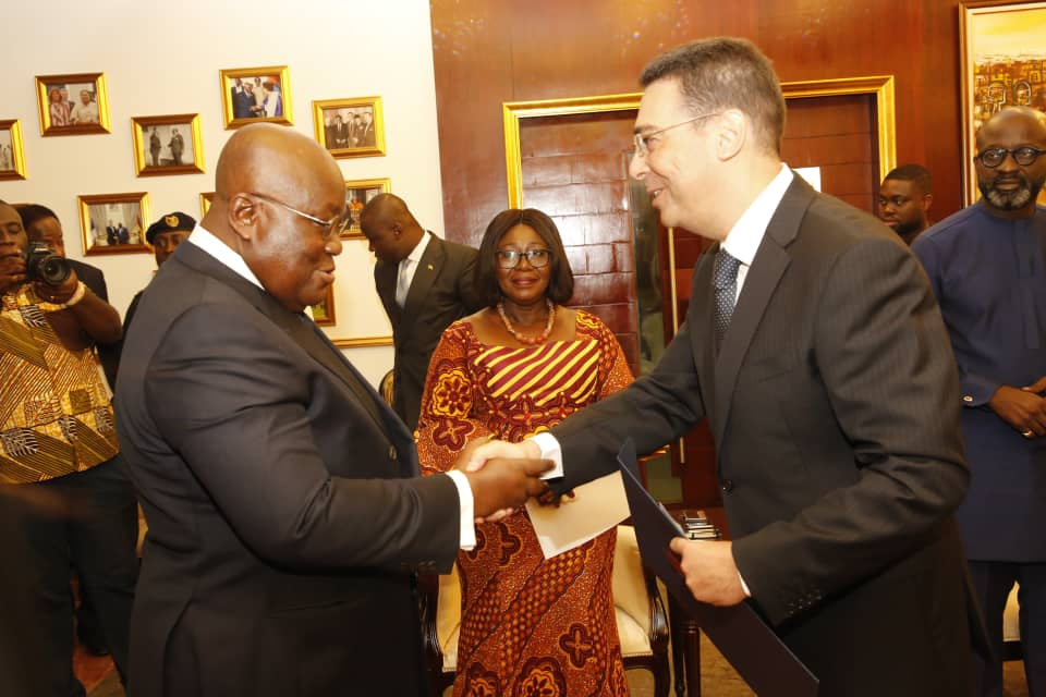 New US Envoy, Three Others Present Letters of Credence to President Akufo Addo
