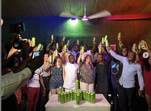 M-NART'S Radler Lemon Beer Has Been Officially Launched In Ghana Under BETNET COMPANY.