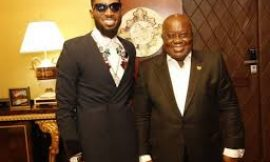 Nigerian Musician D'Banj Meets President of Ghana And Nigerians Can't Stop Talking About It