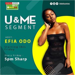 Efia Odo Joins Okay FM