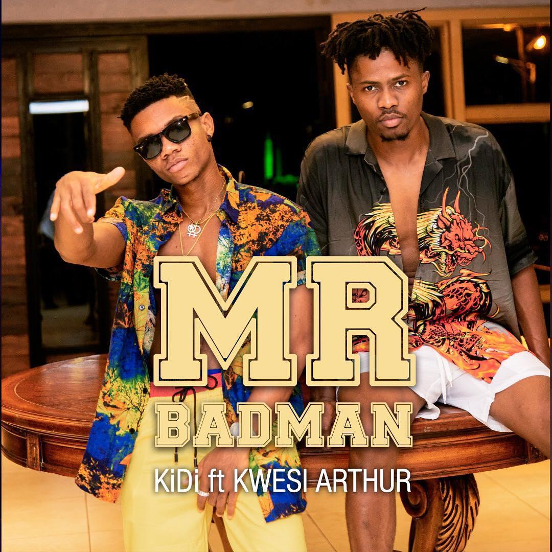 (VIDEO) Kidi Drops News Single 'Mr. Bad Man' Feat. Kwesi Arthur