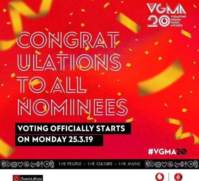 2019 VGMA casting of vote starts Today