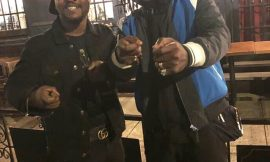 Bhim Nation's Stonebwoy Chills With Archipalago In USA, Ny
