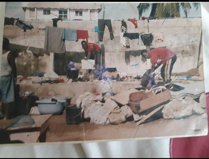 ( PHOTO) Medikal Share Sad Throwback Photos When He Was Poor And Homeless With His Family