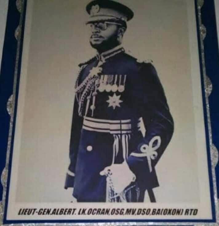 Last Surviving NLC Member, Lt. Gen. Albert Kwesi Ocran Has Passed