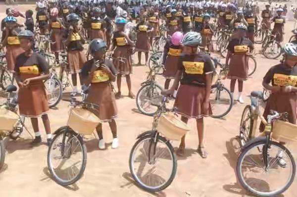 GBBI Donates Bamboo Bikes To Increase Access To Education In Ghana.(Photos)