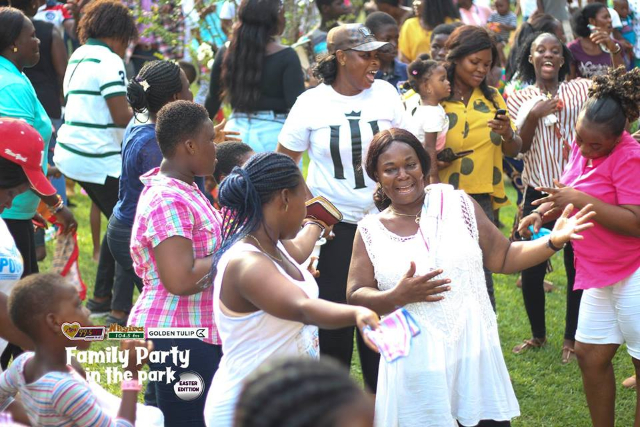 Non-stop live band performance rocks Luv FM Family Party in the Park
