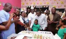 PHOTOS: Stonebwoy, Bola Ray Join NPP's Sammy Awuku To Mark Birthday At 37 Children's Ward
