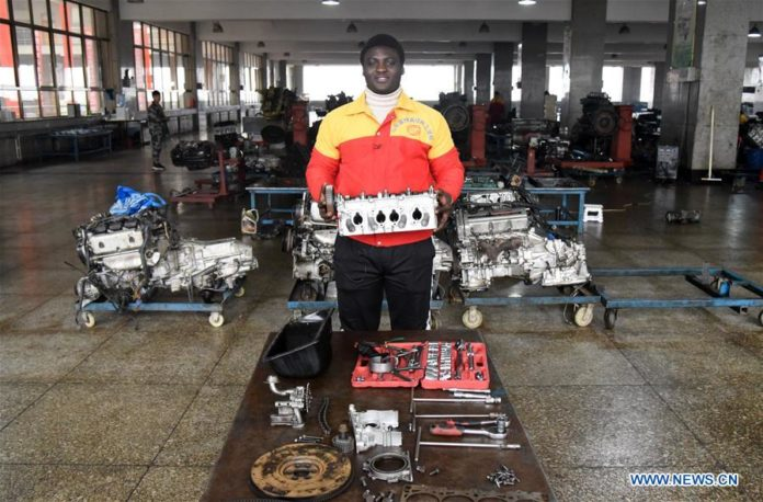 Meet The Ghanaian student making waves at Chinese vocational school
