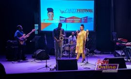 South Africa's Pilani Bubu opens Live In Accra Jazz Festival with epic performance