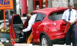 Photos: Hopeson Adorye cruises in Gifty Osei's car