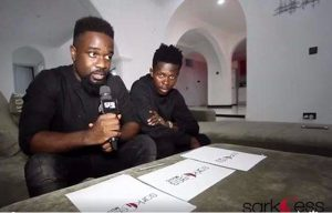 Rapper Sarkodie reacts to the birth of Strongman's baby girl