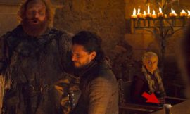 Someone left a coffee cup in a 'Game of Thrones' shot