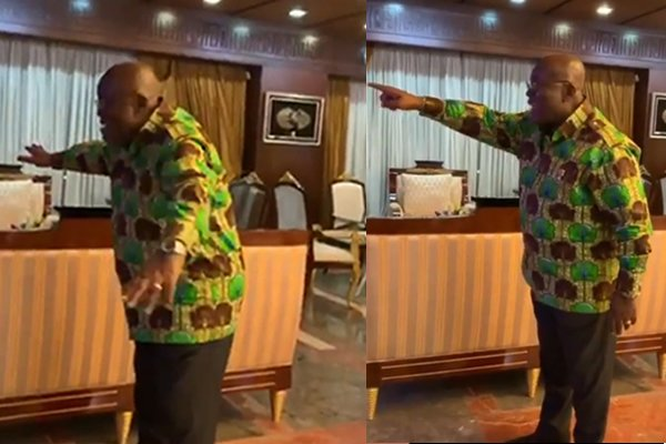 Video: Akufo-Addo celebrates Tottenham's Champions League win