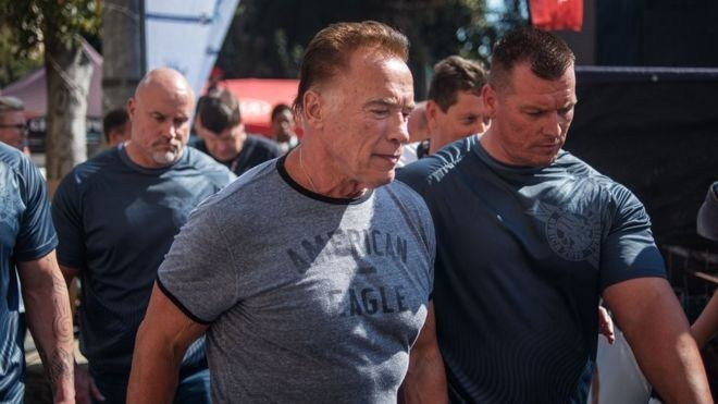 Schwarzenegger attacked at S.Africa sports event – Vanguard News