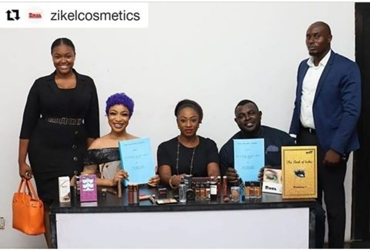 Tonto Dikeh becomes ZIKEL COSMETICS brand ambassador with N100m endorsement deal.