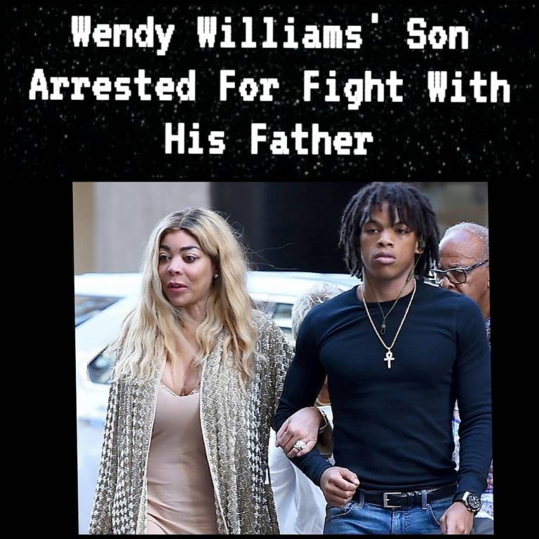 Wendy Williams' 18 year old son, Kevin Jr, was arrested