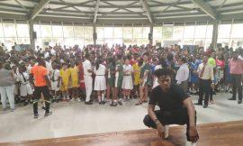 Kwesi Arthur motivates students to win 2019 Queen's Commonwealth Essay
