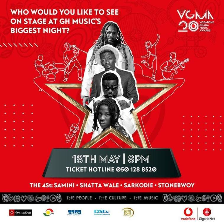 Ghana Ready For The 20th Vodafone Ghana Music Awards Celebrations