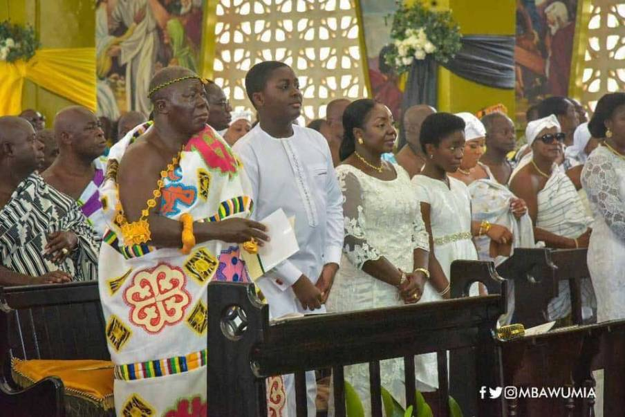 Meet the two beautiful Children of Otumfour Osei Tutu II and Lady Julia