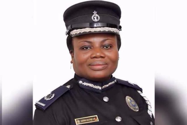 COP Maame Tiwaa, we are no longer at ease