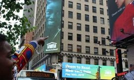 DJ Switch makes it unto billboard in Times Square