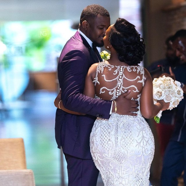 Photo: Dumelo relishes having fun with wife's buttocks