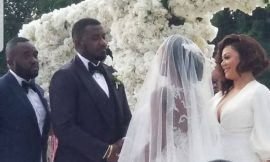 Photos/Video: John Dumelo's white wedding