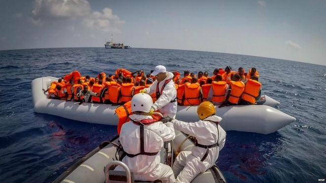 The Mediterranean, the death trap of illegal migrants