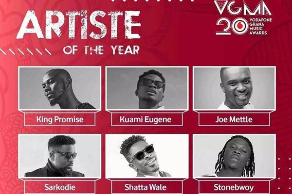 VGMA@20: Live updates of 20th Vodafone Ghana Music Awards