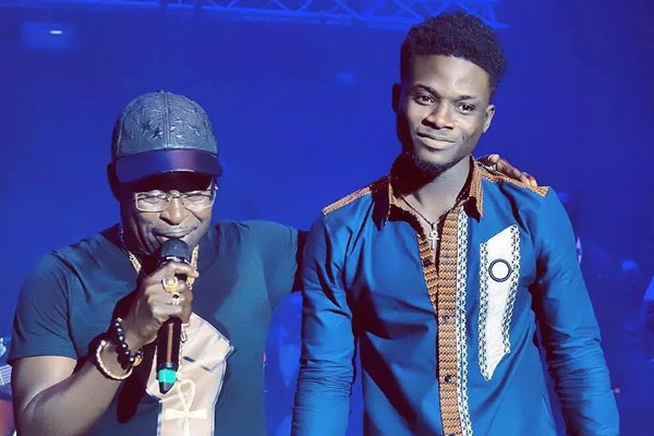 "VGMA@20: ""You are my son"" – Amakye Dede crowns Kuami Eugene"