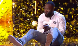 Video: Ghanaian comedian gets golden buzzer from Simon Cowell