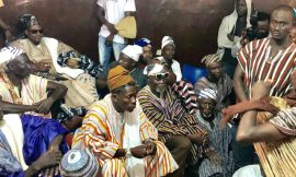 Photos: Shatta Wale enskinned 'Dancehall Naa' by Tamale Chief