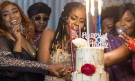 Photos: MzVee celebrates birthday with Dr Zanetor Rawlings and many more