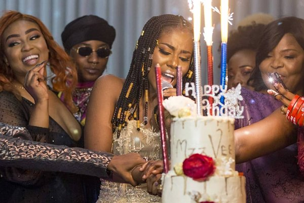 Photos: MzVee celebrates birthday with Dr Zanetor Rawlings and many more