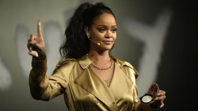 Wow: Rihanna tops Forbes rich list thanks to Fenty make-up