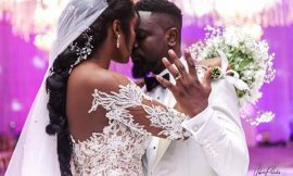 Sarkodie doesn't come to bed early – Wife