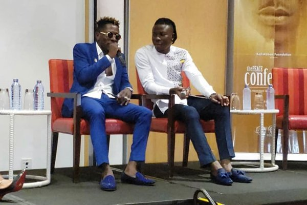 There's no ulterior motive behind peace talk – Stonebwoy, Shatta assure fans