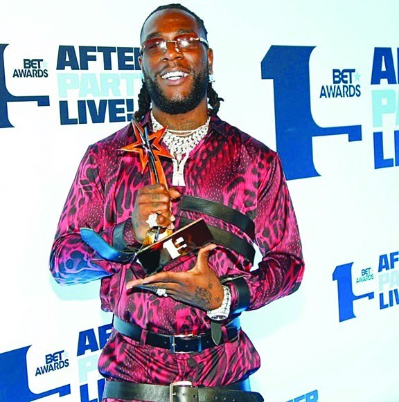 Why Burna Boy deserved his BET award – Davido
