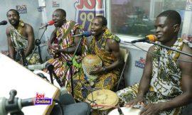 Joy FM's Cosmopolitan mix goes live with Kwanpa band