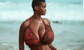 Size of my boobs a blessing to me – Pamela Odameh