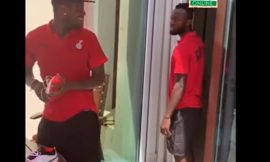 Video: Asamoah Gyan, Atsu, Owusu, others in 'cheeky response train'