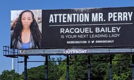 Wannabe actress buys billboard to catch attention of Tyler Perry