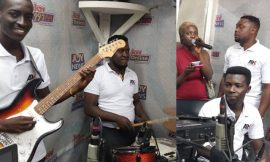Ark band performs live on Joy FM's Cosmopolitan Mix