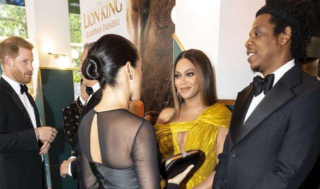 Beyoncé, Meghan Markle finally meet at 'The Lion King' premiere