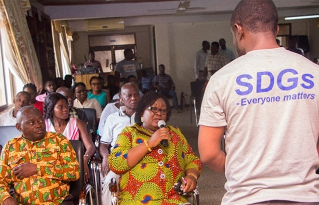 Ghana's voluntary national review on SDGs: An all-inclusive process